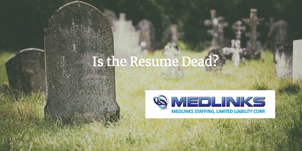 Is the Resume Dead?